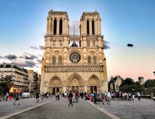 DJI Drones help with Notre Dame Fire